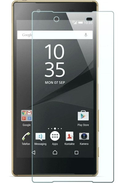 Case Street Sony Xperia L2 Full Kapatan Renkli Cam Şeffaf