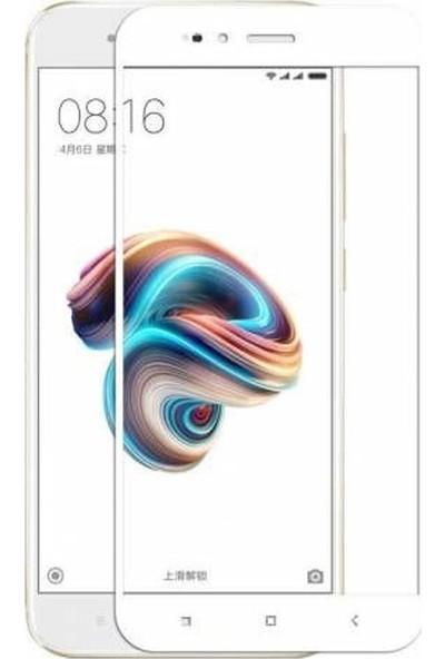Case Street Xiaomi Mi 5X Full Kapatan Renkli Cam Beyaz