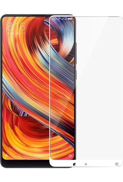 Case Street Xiaomi Mi Mix 2 Full Kapatan Renkli Cam Beyaz