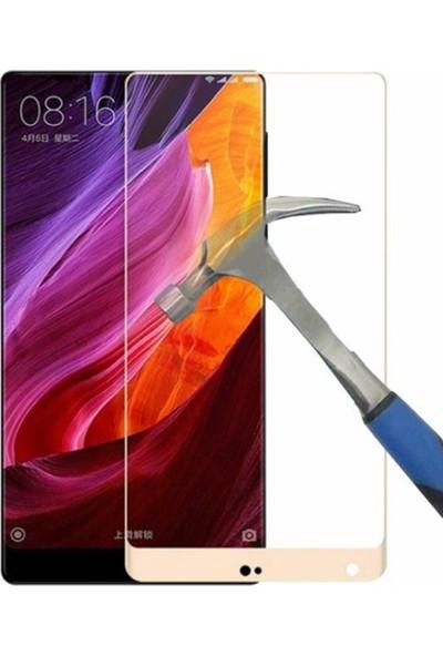 Case Street Xiaomi Mi Mix Full Kapatan Renkli Cam Gold