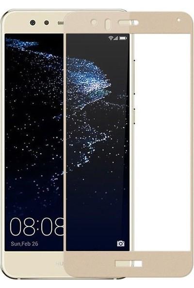 Case Street Huawei P10 Lite Full Kapatan Renkli Cam Gold