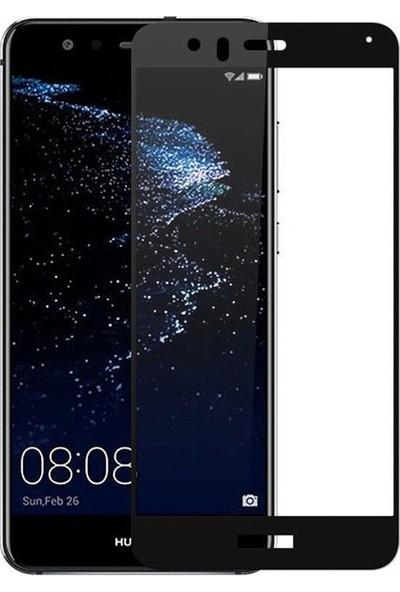 Case Street Huawei P10 Lite Full Kapatan Renkli Cam Siyah