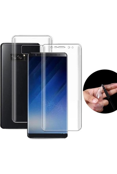 Case Street Samsung Galaxy Note 8 Full Body Ön Arka Ekran Koruyucu
