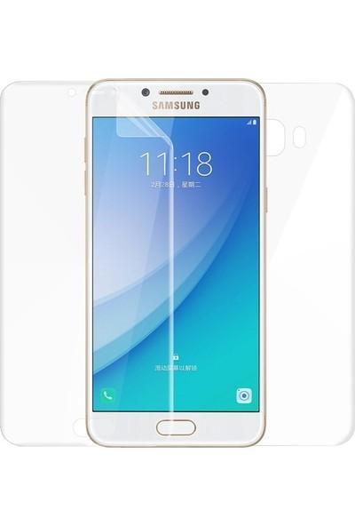 Case Street Samsung Galaxy C7 Pro Full Body Ön Arka Ekran Koruyucu