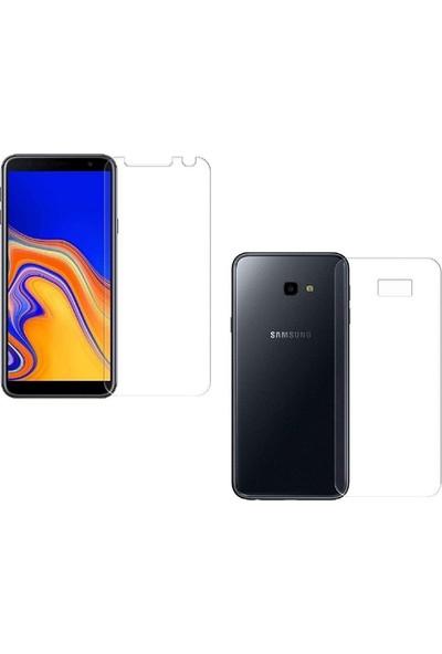 Case Street Samsung Galaxy J4 Plus Full Body Ön Arka Ekran Koruyucu