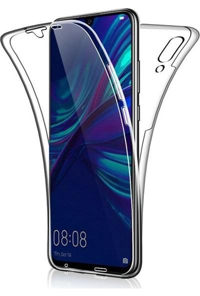 Gpack Huawei P Smart 2019 Kılıf Ön Arka Şeffaf Silikon Koruma Şeffaf