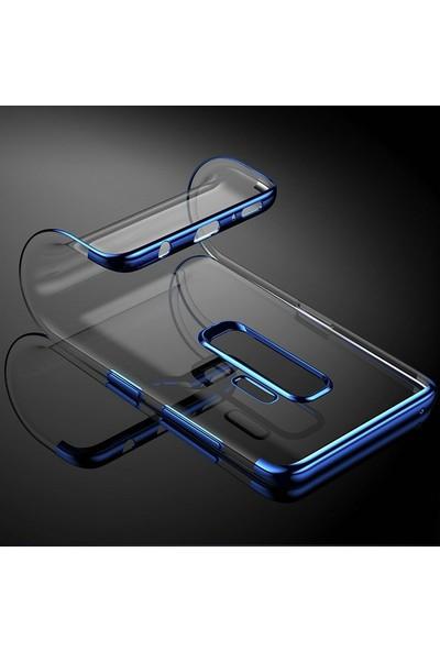 Gpack Casper Via G3 Kılıf Colored Silicone Yumuşak+Nano Glass Mavi