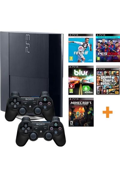 Sony Playstation 3 500GB Yenilenmiş Oyun Konsolu 37 Adet Digital Oyunlu