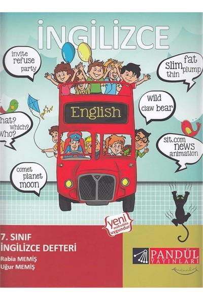 Pandül 7. Sınıf İngilizce Defteri