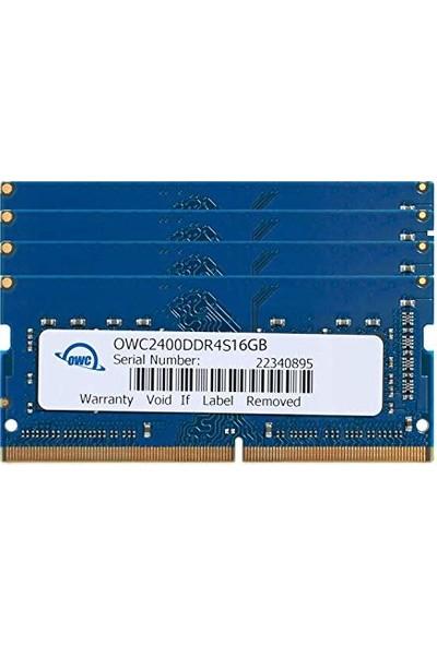 Owc 64 GB (4 x 16 GB) 2400MHz DDR4 So-Dimm PC4-19200 260 Pin