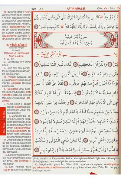 Kur'an-ı Kerim ve Yüce Meali (Cami Boy) - Elmalılı Muhammed Hamdi Yazır