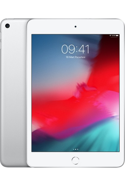 """Apple iPad Mini 64GB 7.9"""" Wi-Fi + Cellular Retina 4G Tablet - Gümüş MUX62TU/A"""