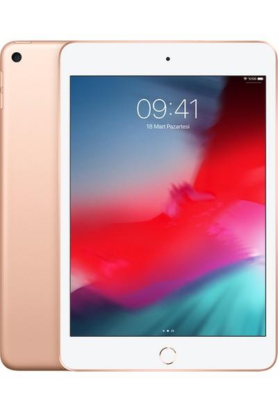"""Apple iPad Mini 64GB 7.9"""" Wi-Fi + Cellular Retina 4G Tablet - Altın MUX72TU/A"""