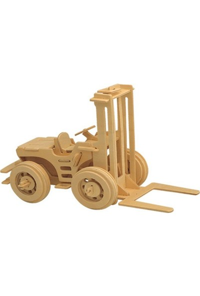 Piramigo 3D Büyük Ahşap Maket Forklift
