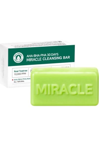 Some By Mi Aha Bha Pha 30 Days Miracle Cleansing Bar - Çay Ağacı Sabunu
