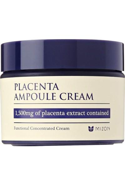 Mizon Placenta Ampoule Cream - Işıltı Artırıcı Yaşlanma Karşıtı Ampul Kremi