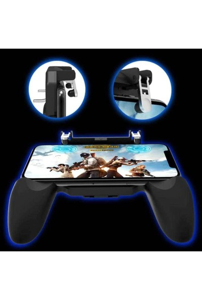 Markaawm PubG Fortnite Ateş Tetik Düğmesi Oyun Aparatı Konsol Gamepad W10