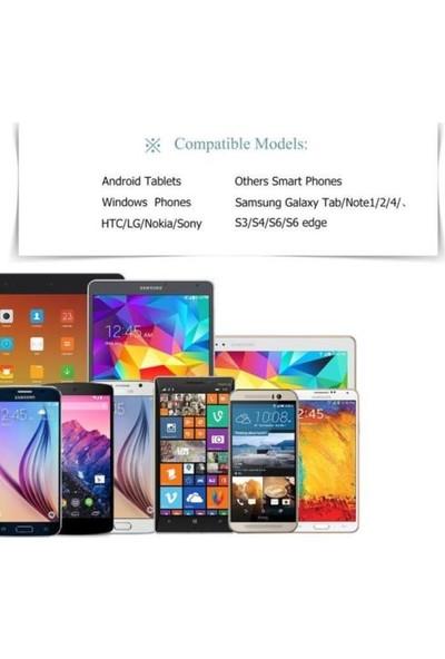 Markaawm Samsung Lg Asus Htc Sony Micro Usb Şarj Data Kablosu 2 Metre