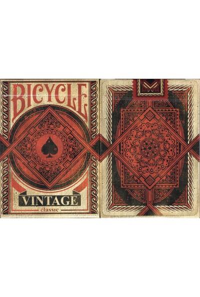 Bicycle Vintage Koleksiyonluk İskambil Cardistry Oyun Kağıdı Kartları Destesi