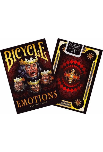 Bicycle Emotions Koleksiyonluk İskambil Cardistry Oyun Kağıdı Kartları Destesi
