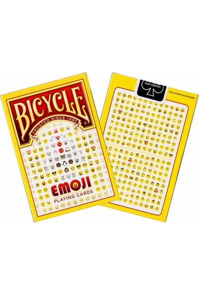 Bicycle Emoji Koleksiyonluk İskambil Cardistry Oyun Kağıdı Kartları Destesi