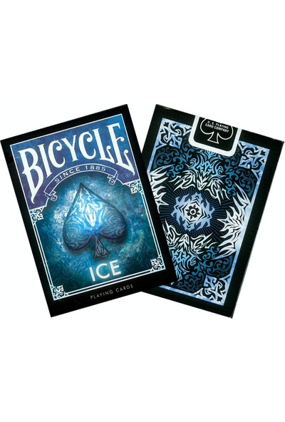 Bicycle Ice Koleksiyonluk İskambil Cardistry Oyun Kağıdı Kartları Destesi
