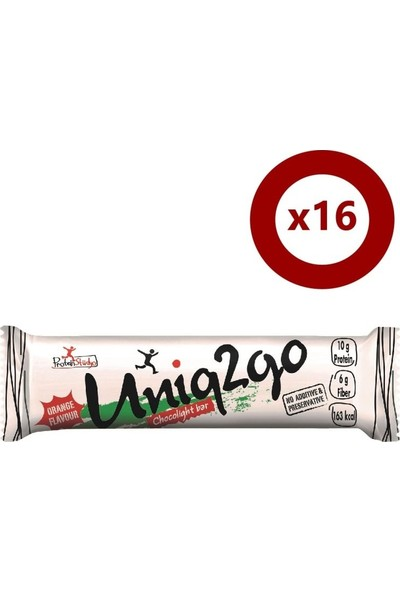 Uniq2go Choco Light Bar 16'lı Kutu