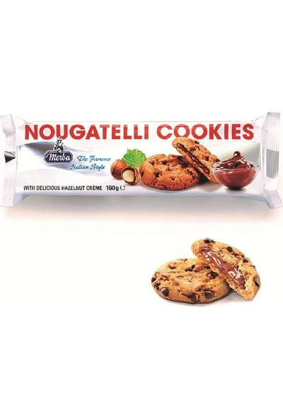 Merba Nougatelli Cookies 175 Gr