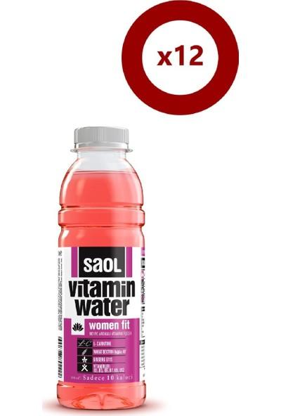 Saol Women Fit Vitaminli Su 12 x 500 ml