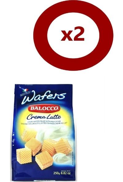 Balocco Gofret Latte 250 gr 2'li Set