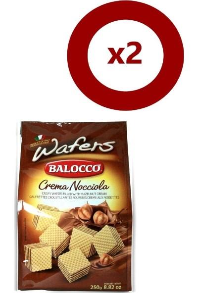 Balocco Gofret Fındıklı 250 gr 2'li Set