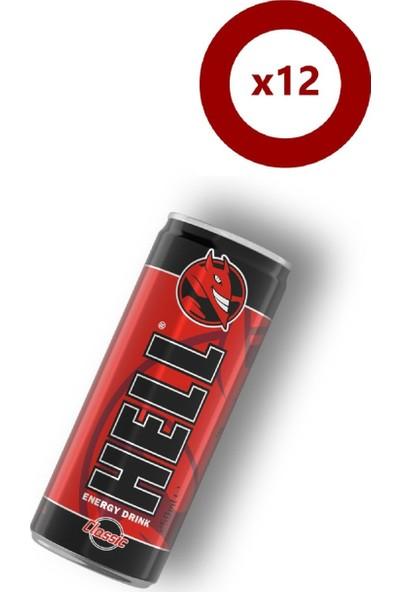Hell Enerji İçeceği Classic 250 ml - 12'li