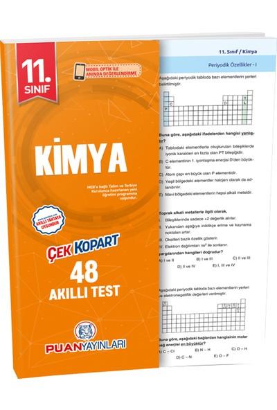 Puan Yayınları 11. Sınıf Kimya Akıllı Test