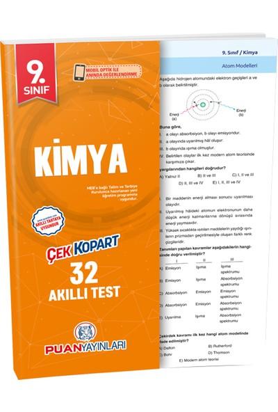 Puan Yayınları 9. Sınıf Kimya Akıllı Test