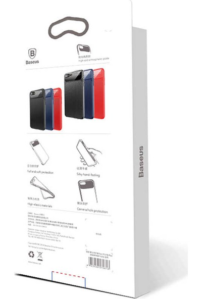 Baseus Apple iPhone 8 Plus Kılıf Baseus Knight Telefon Kılıfı