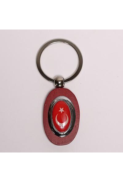 Yeni Hayat Türk Bayrağı Anahtarlık