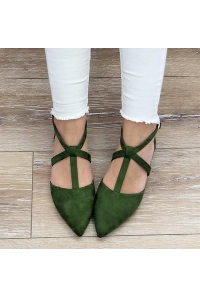 Mio Gusto Colette Yeşil Babet
