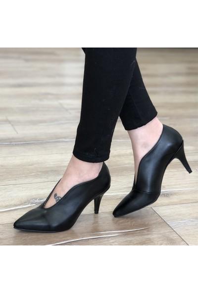 Mio Gusto Jenny Siyah Topuklu Ayakkabı