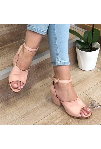 Mio Gusto Sabrina Pudra Topuklu Ayakkabı