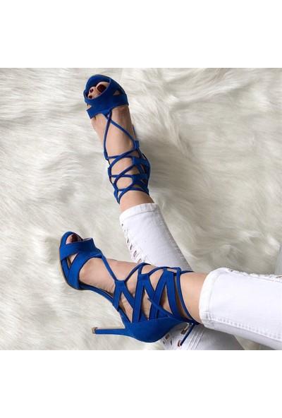 Mio Gusto Melanie Saks Topuklu Ayakkabı