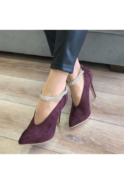 Mio Gusto Judy Bordo Abiye Ayakkabı