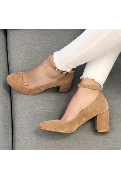 Mio Gusto Karolina Somon Topuklu Ayakkabı