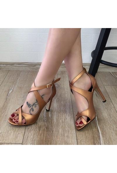 Mio Gusto Cyntia Bakır Abiye Ayakkabı