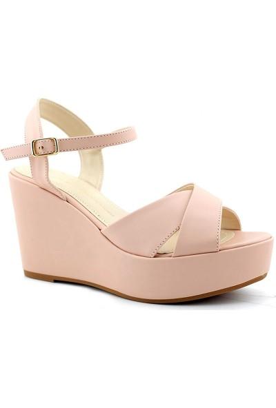 Esstii 401 Kadın Dolgu Topuklu Sandalet
