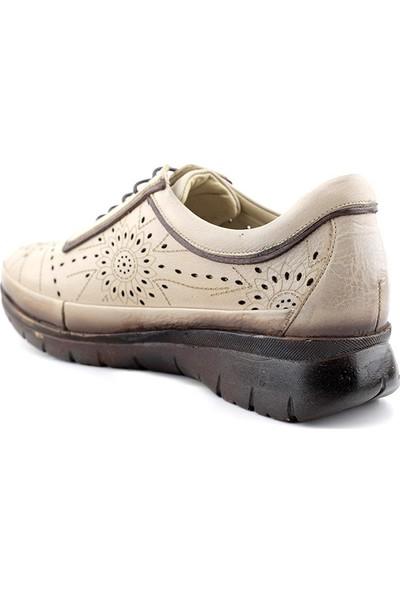 Evida 2640 Hakiki Deri Kadın Ayakkabı