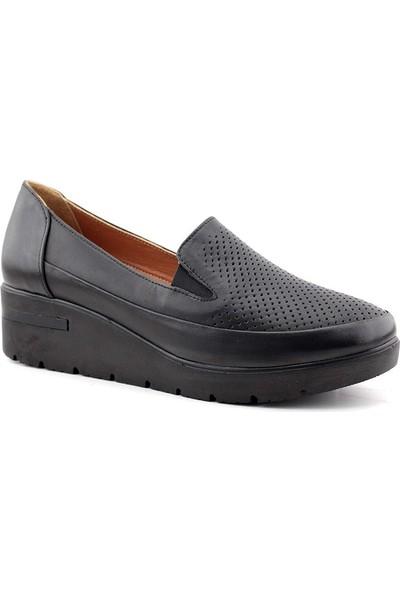 Estile 390 Hakiki Deri Kadın Günlük Ayakkabı