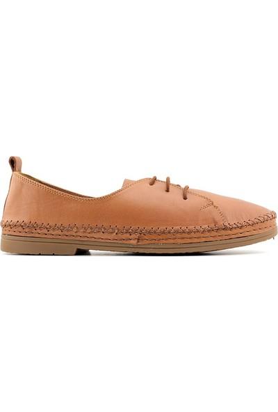 Estile 462 Hakiki Deri Kadın Günlük Ayakkabı