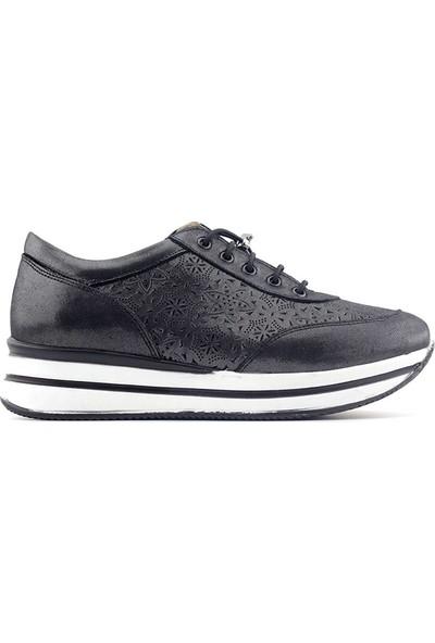 Sarıkaya Castle Black Kadın Günlük Ayakkabı