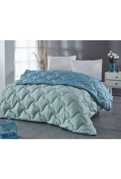 Komfort Home Renkli Çift Kişilik Microfiber Yorgan 195x215 CM