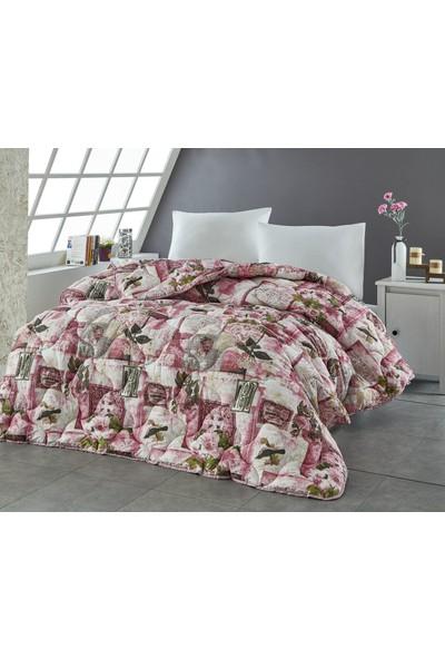 Komfort Home Baskılı Çift Kişilik Microfiber Yorgan + 2 Yastık